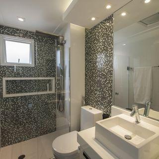 Banheiro com cuba Quadrada