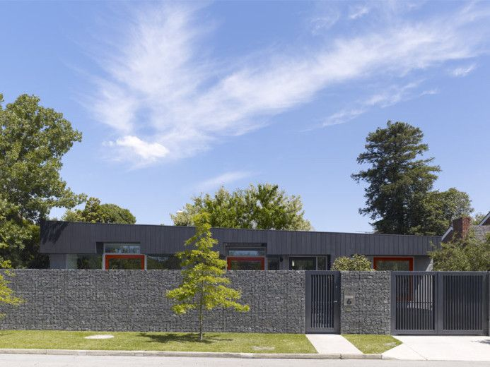 Nareeb Court is a home for four adults on a site with a single storey covenant