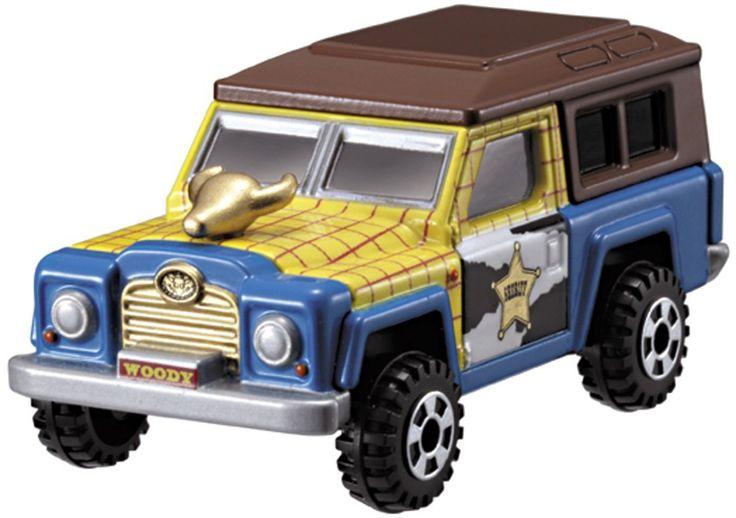 Tomica Disney Pixar Motors Aix cruiser woody สินค้าลิขสิทธิ์แท้ นำเข้าจากประเทศญี่ปุ่น เหมาะสำหรับเด็กอายุ 3 ปีขึ้นไป
