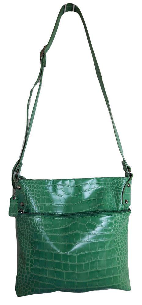 DANIER Genuine jade green Cowhide Leather