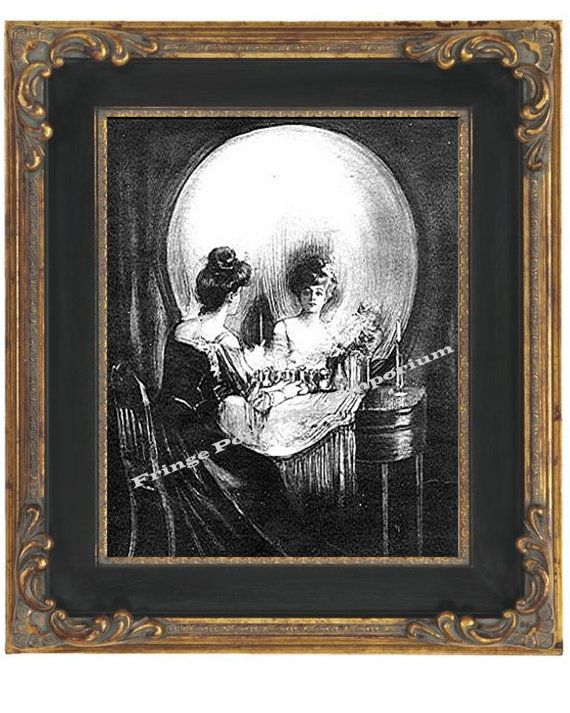 Hey, I found this really awesome Etsy listing at https://www.etsy.com/listing/89302485/skull-illusion-art-print-8-x-10