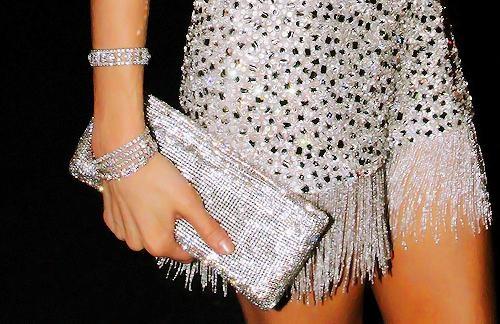 Love.New Years Dresses, Cocktails Dresses, Diamonds Bracelets, Dresses Fashion, Fashion Bags, Diamonds Dresses, Sparkle, Clutches Pur, Bling Bling