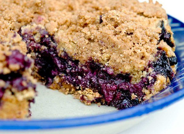 Blueberry Buckle | Refreshments & Recipes | Pinterest