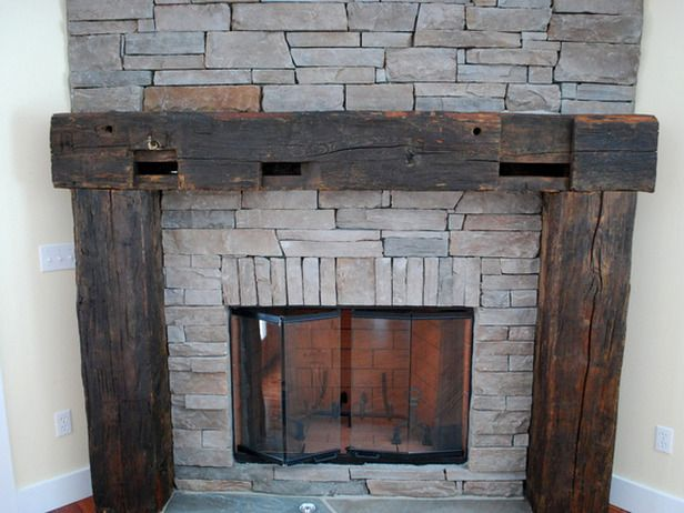 vote for great room features blog cabin rustic fireplace mantle