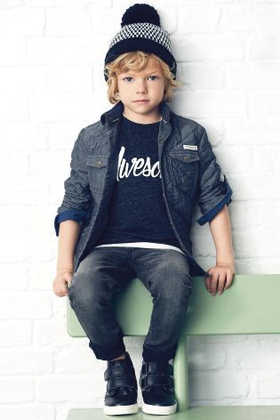Buy Grey Quilted Shacket (3-16yrs) online today at Next: United States of America