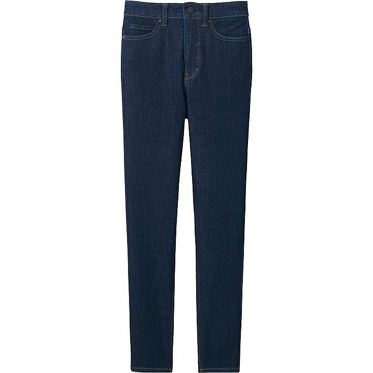 DAMEN Ultra Stretch Jeans Knöchellang Hohe Leibhöhe