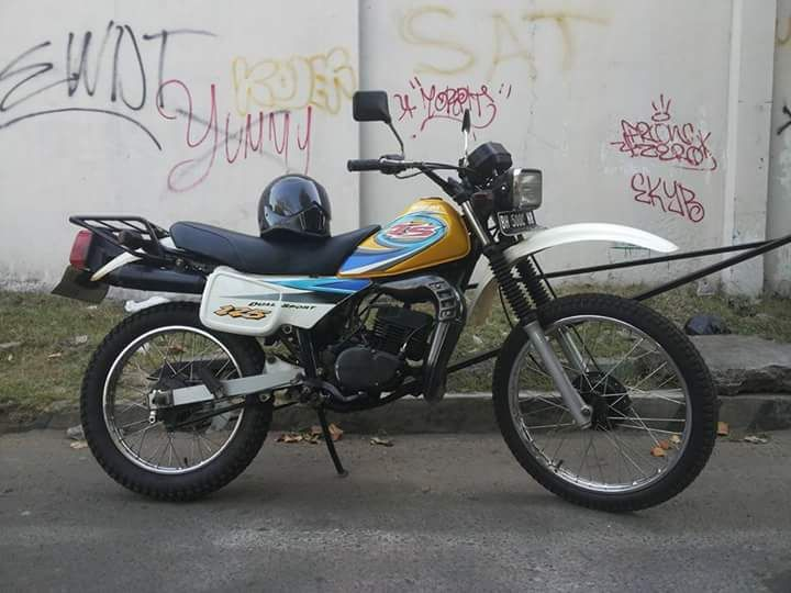 Ini Trail-nya Ali Topan TS Suzuki - SOLO - LAPAK MOBIL DAN MOTOR BEKAS