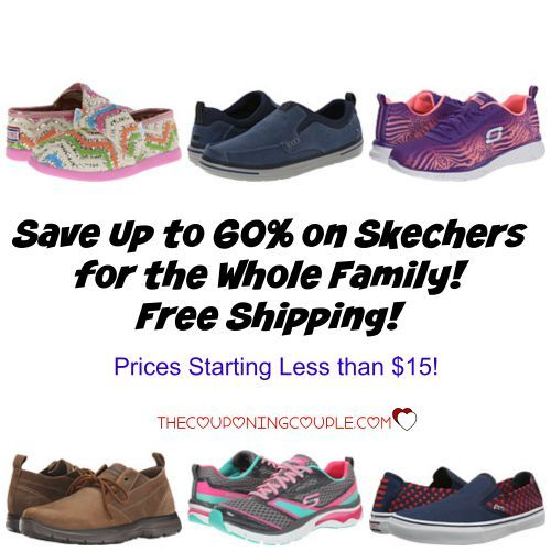 WOW!! Look at this Skechers Sale! Save up to 60%! Prices start at less than $15 and your entire order ships for free!  Click the link below to get all of the details ► http://www.thecouponingcouple.com/skechers-save-up-to-60-or-more-free-shipping/  #Coupons #Couponing #CouponCommunity  Visit us at http://www.thecouponingcouple.com for more great posts!