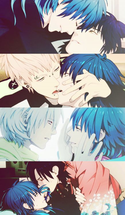 DRAMAtical Murder || Aoba, Ren, Noiz, Clear, and Koujaku