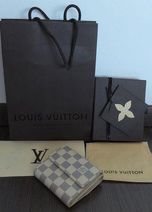 Kupuj mé předměty na #vinted http://www.vinted.cz/damske-tasky-a-batohy/penezenky/10042987-kozena-penezenka-louis-vuitton-elise-damier-azur