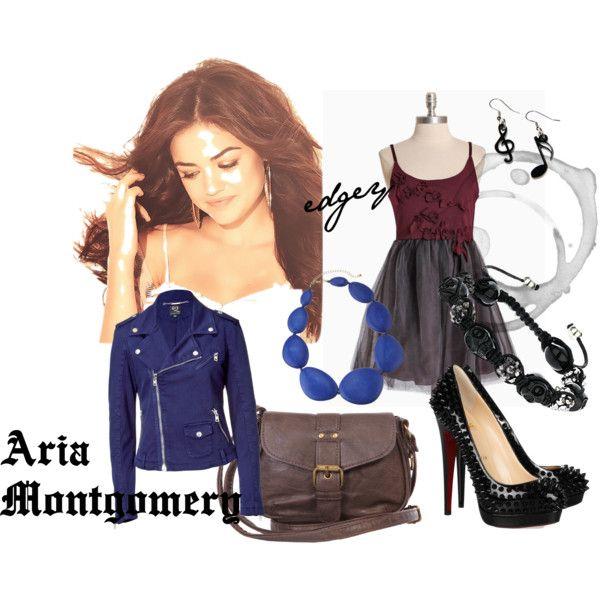 Aria Montgomery, Pretty Little Liars Fashion Inspiration.