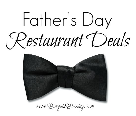 Father's Day Restaurant Coupons for 2014: Denny's, Texas de Brazil and More!