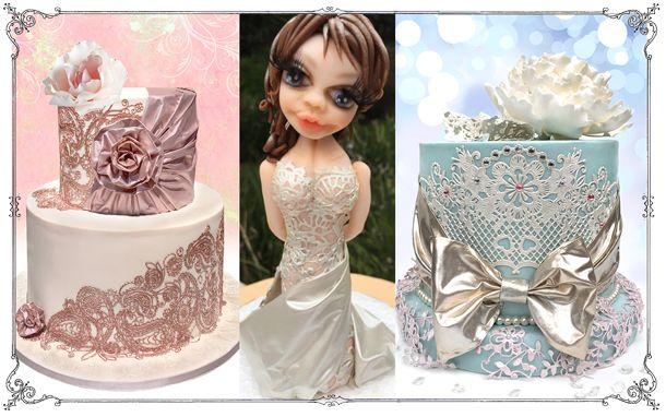 Edible FabricArt for cake decor