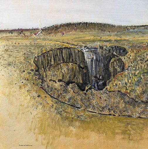 Fred WILLIAMS  Lal-Lal Falls (1976)    Collection of the Art Gallery of NSW