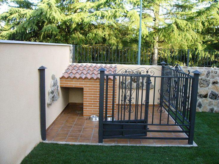 M s de 25 ideas nicas sobre caseta perro en pinterest for Hacer caseta jardin