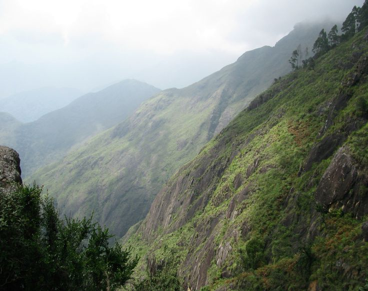 First glance of valley @ Kodaikanal in Tamil Nadu