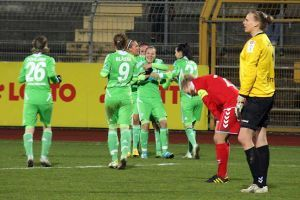 16. März 2012, Frauen-Bundesliga, VfL Wolfsburg vs USV Jena 7:0