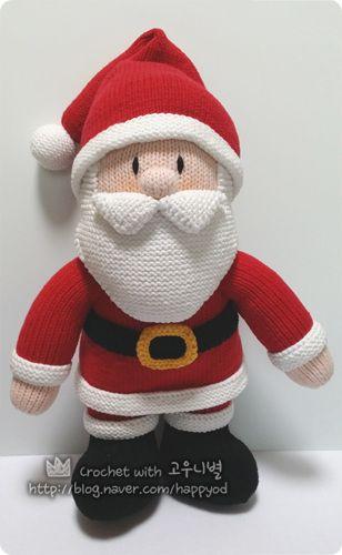 Jean Greenhowe's santa ^^♡
