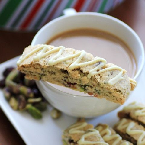 Cranberry Pistachio Biscotti #ChristmasWeek #Freund | Recipe ...