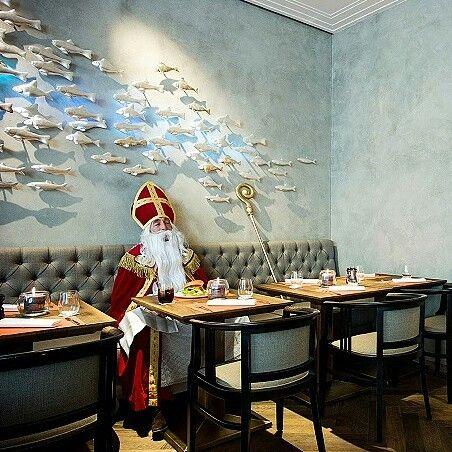 Nikolaus im #KUFFLER in #München
