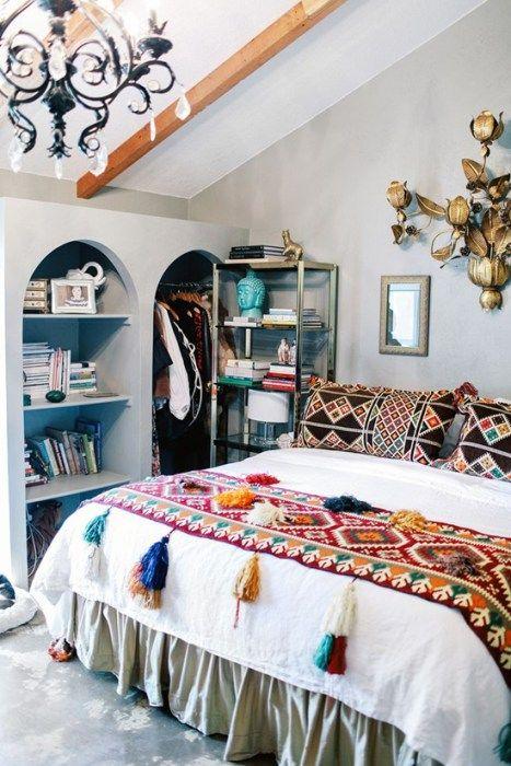 M s de 25 ideas incre bles sobre dormitorios hippies en for Pinterest habitaciones