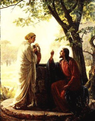 """""""This Sunday's Gospel is the well know """"Jesus & the woman at the well"""" encounter. For YEARS I have heard/read this passage and was fairly satisfied with the """"unpacking"""" of its meaning by my wee..."""