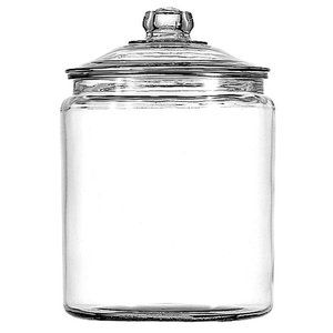 For the cards: Anchor Hocking Heritage Hill 2-Gal Jar with Lid