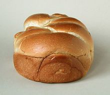 Maillard Reaction (The crust of most breads, such as this brioche in the photo, is golden-brown due to the Maillard reaction.)
