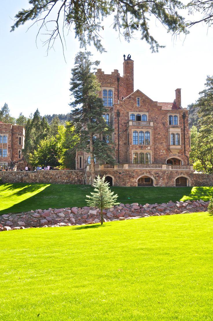 Glen Eyrie Castle In Co Springs Hopefully Where My