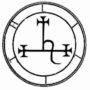 Simbolo de Lilith.