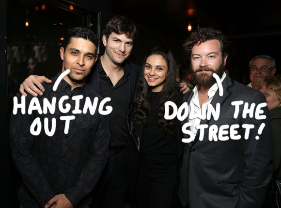 Everyone loves a good reunion from our favorite shows and Monday night we got a little That '70s Show get together thanks to the Netflix show The Ranch!