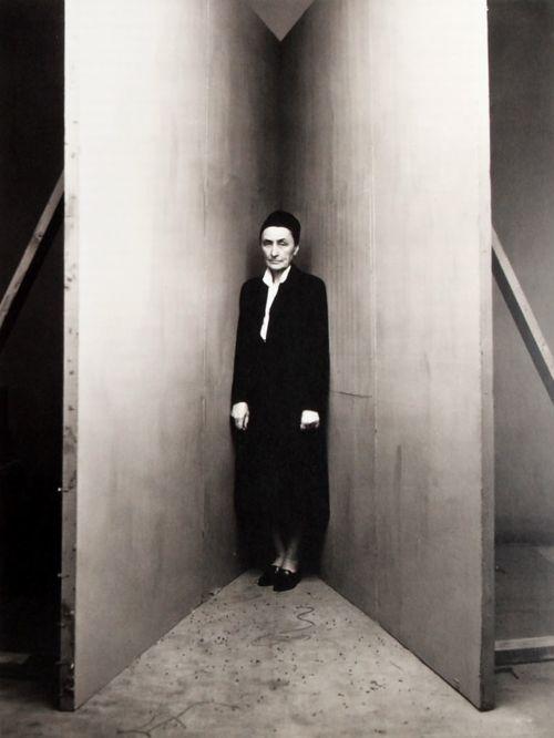 Irving Penn. Portrait of Georgia O'Keefe, 1948.