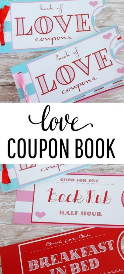 Gifts for boyfriend relationships anniversaries coupon books 19 ideas
