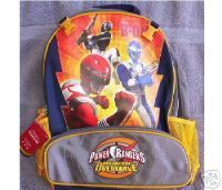 Operation Overdrive Power Rangers BACKPACK Disney Store NEW Full Size Book Bag. $33.99