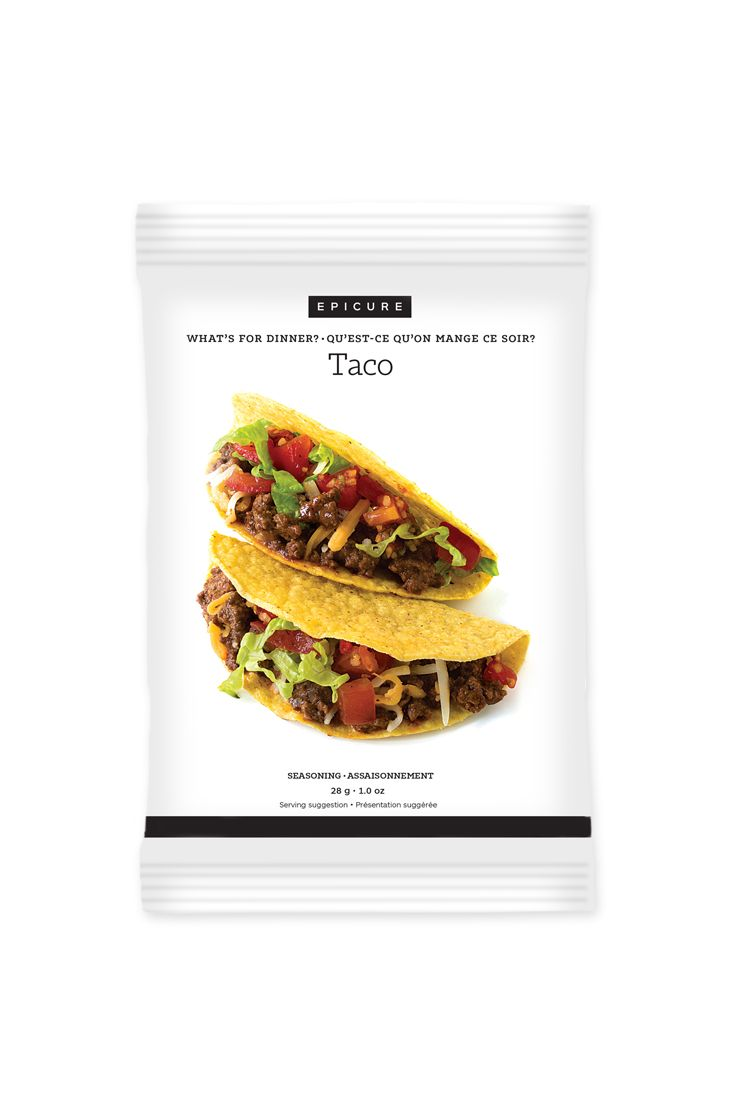 Taco Recipe Seasoning Mix: Season cooked ground meat with this chili and herb mix for quick, delicious taco filling.