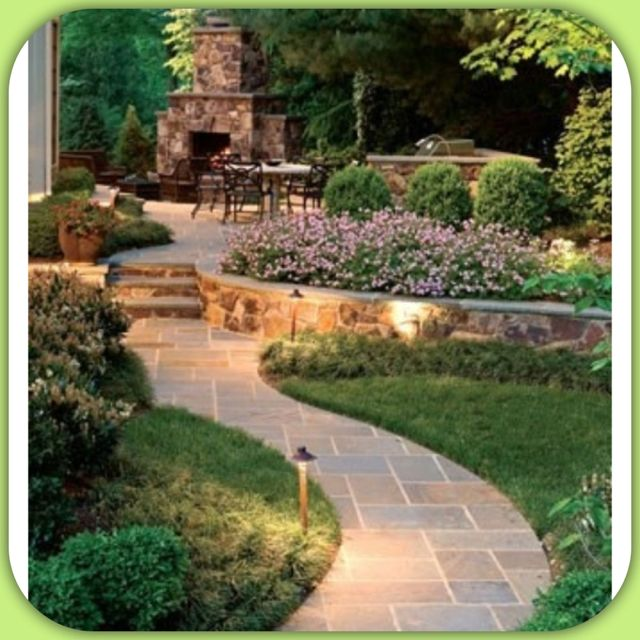 "Backyard - The ""feel"" we would like to achieve."