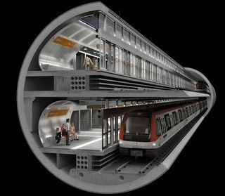 Far From Boring: Meet the Most Interesting Tunnel Boring Machines : urbanplanning