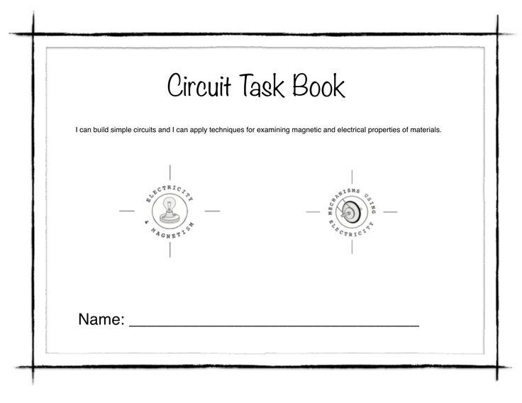 Circuit Task Book Resource Preview