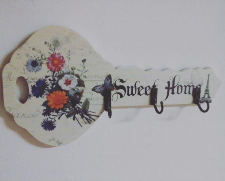 Porta llaves vintage -MDF