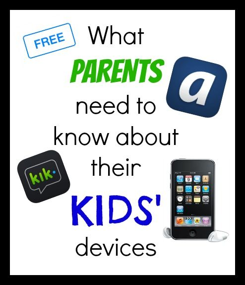 Important info about the FREE apps that kids are using to text, sext, bully