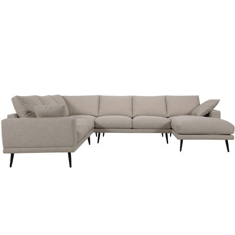 Manhattan Modular 2 Seat Left Hand, Corner, 2 Seat A/L & Chaise Right Hand | Freedom Furniture and Homewares