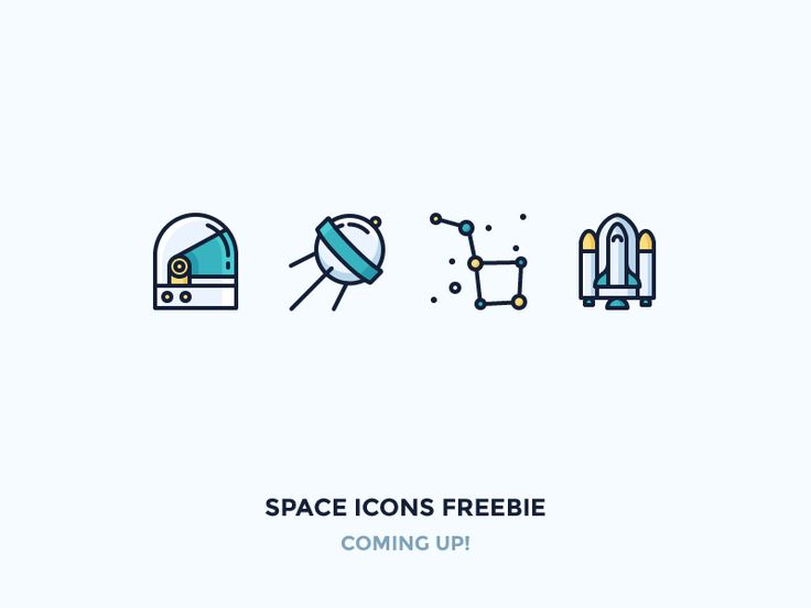 Hey! I've taken my older space icon set and redoing it in colour. It should be available as a freebie soon. Stay tuned!   Worth checking out:  Icon Utopia |  Icon Shop |  Pinterest |  Instagram