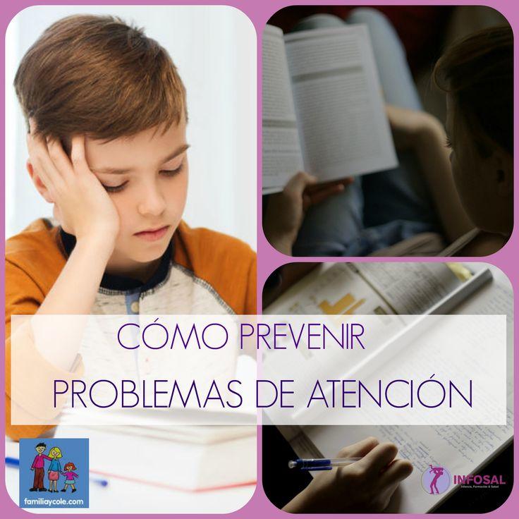 Prevenir problemas de atención en niños es una de las medidas más eficaces que se pueden adoptar para evitar dificultades de aprendizaje. En esta entrada os presento un folleto informativo para las familias donde se recomiendan algunas medidas encaminadas a prevenir problemas de atención desde el hogar