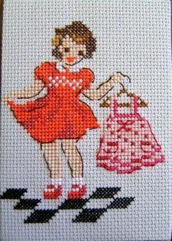 Une robe en étrennes
