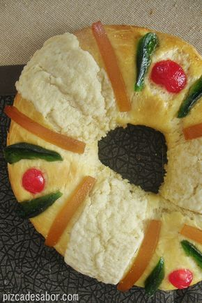 Rosca de Reyes tradicional paso a paso - Pizca de Sabor