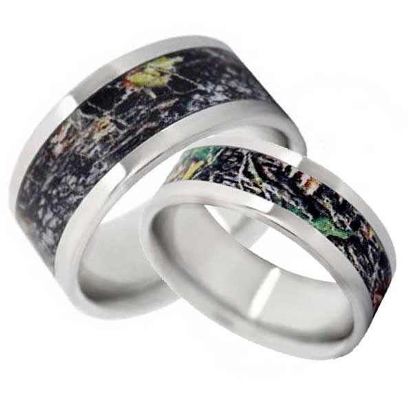 7 best images about Camo Engagement Rings on Pinterest