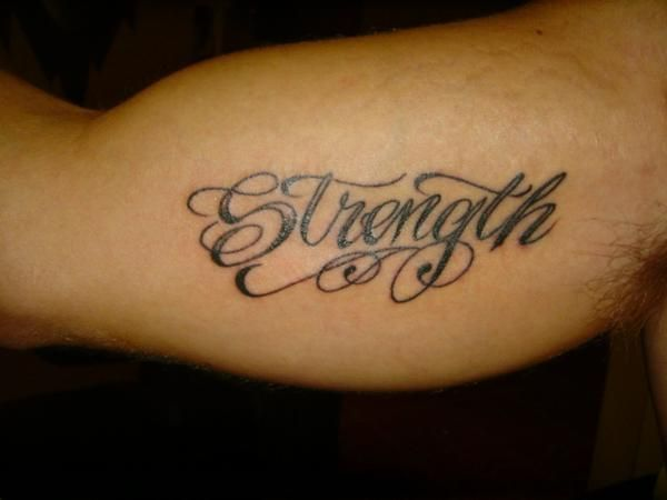 strength tattoo inner bicep – Yahoo Image Search Results