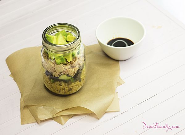 Dieta 5.2 mason jar healthy meals | Deseo Beauty