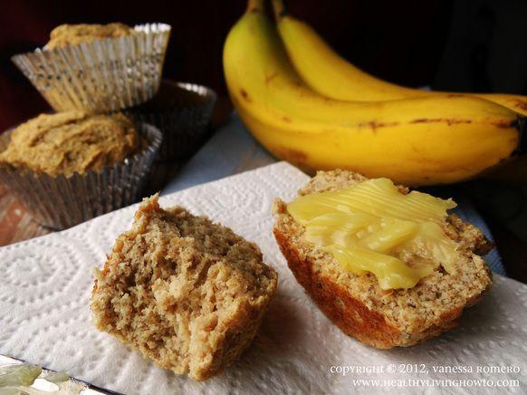 Gluten-Free Banana Muffin: Coconut Flour Muffins, Bananas Muffins, Paleo Diff, Food, Gluten Free Banana, Paleo Bananas, Muffins Recipe, Diet Recipe, Healthy Living