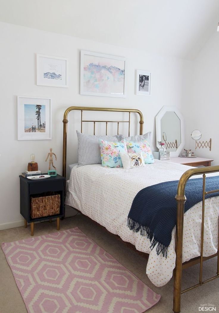 cool 58 Vintage Teenage Girls Bedroom Ideas